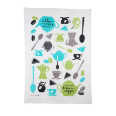 Cuppa time tea towel
