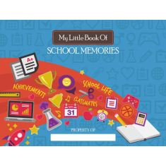 Little Book Of.... School Memories keepsake book