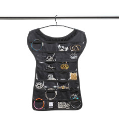 Umbra little black tee jewellery organiser