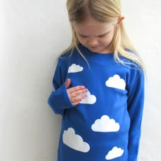 Kids' clouds t-shirt (various colours)