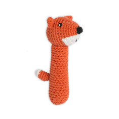 Weegoamigo Crochet Rattle - Fierce Fox