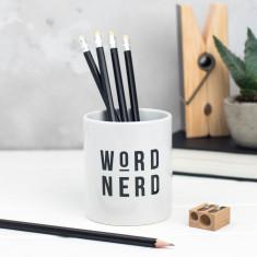 Word Nerd Pencil Pot