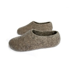 Men's eco friendly wool maximum slippers
