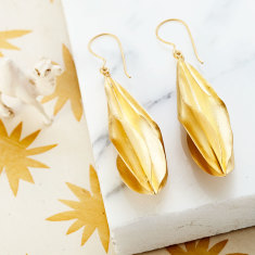 Mali larger drop earrings