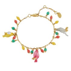 Colourful Lovely Canaries Bracelet