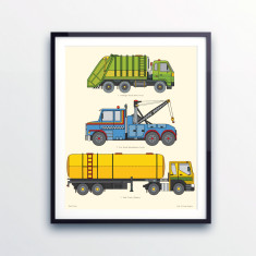 Road Vehicle Print