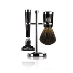 Savile Row Shaving Set - Ebony
