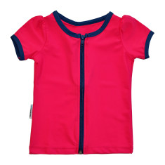 Short sleeve rashie for girls in Blogger