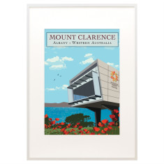 Vintage Albany Anzac Centre Mount Clarence print