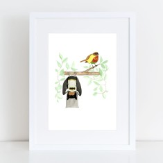 Batman & Robin - Limited Edition Fine Art Print
