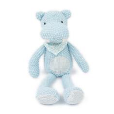Weegoamigo Pearl Knit Toy - Hippo