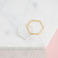 Hexagon Stacking Rings