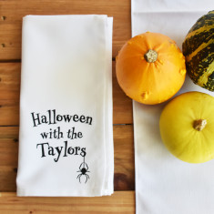 Halloween With The… Personalised Napkin