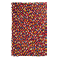 Ball and Stitch Multi Colour Rug