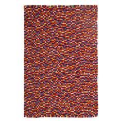 Ball and Stitch Multi Colour Rug