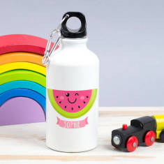 Children's Personalised Summer Fruit Water Bottle