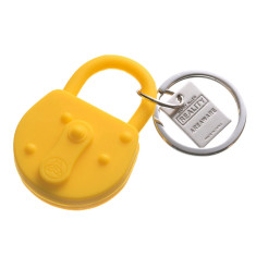 Areaware lock keychain