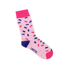Lafitte kids confetti pattern socks (various colours)
