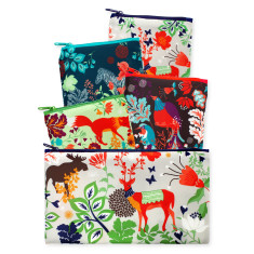 LOQI reusable bag collection sets of 4