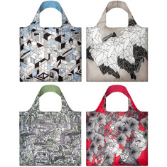 LOQI reusable bag pen art collection