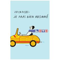 Loto poster by Savignac