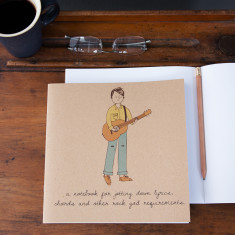Guitar boy notebook