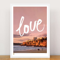 Love Freshwater limited edition print
