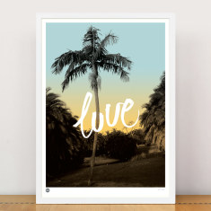 Love in the park limited edition print