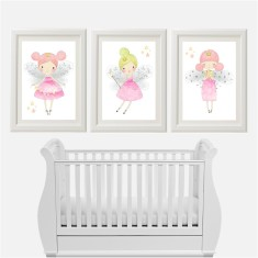 Pretty Fairy Prints (Set of 3)