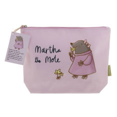 Martha the Mole wash bag