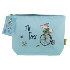 Mr Fox wash bag