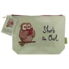 Sherb the Owl wash bag