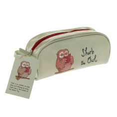 Sherb the Owl pencil case