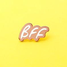 Best Friend BFF Enamel Pin