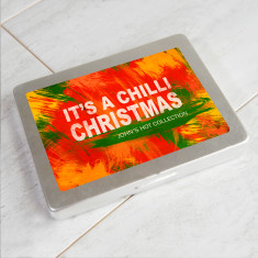 Christmas Message Personalised Chilli Powder Collection