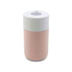 Frank Green Smart Cup 12oz - Nude Rose / Coconut Milk / Harbour Mist Coffee Cup