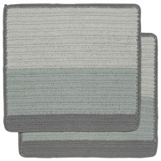 Sasha Crochet Dishcloths (set of 2, various colours available)