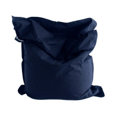 Navy blue bean bag cover