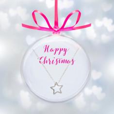 Christmas bauble jewellery gift