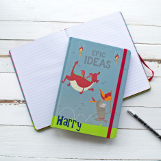 Personalised Knights Epic Ideas Notebook