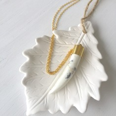 Tribal Warrior Gold Necklace