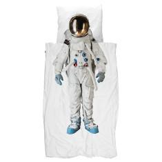 Snurk quilt cover set astronaut