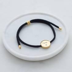 Personalised Skinny Cord Bracelet