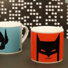 Kids' superhero mug in orange