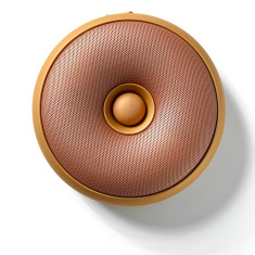 Portable Bluetooth speaker Hoop copper