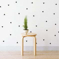 Mini triangles wall stickers