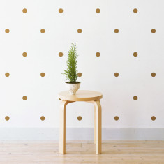 Polka dots wall stickers