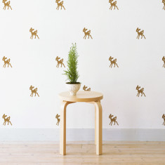 Mini Bambi wall stickers (various colours)