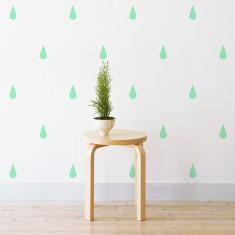 Raindrops wall stickers