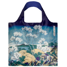 LOQI reusable bag in museum collection in fuji